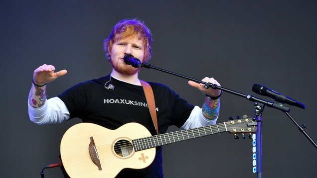 Ed Sheeran and Stormzy riding high in charts with new single