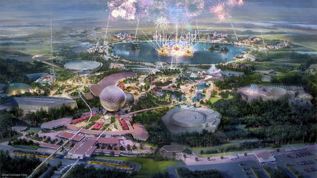 Transformation of Epcot