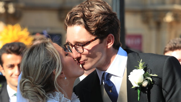 Ellie Goulding in SECOND wedding dress to Caspar Jopling