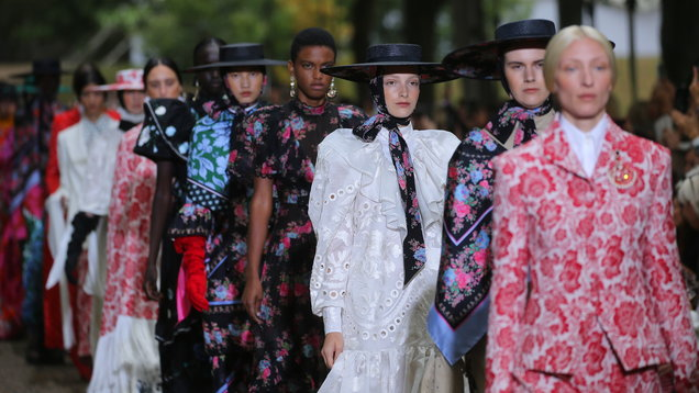 Did Richard Quinn just go ahead and win London Fashion Week?