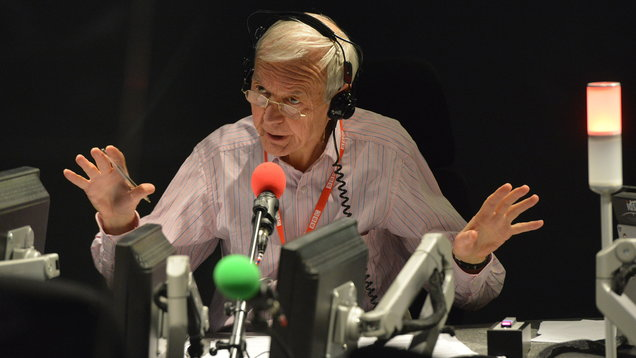 BBC's Humphrys wins broadcast award