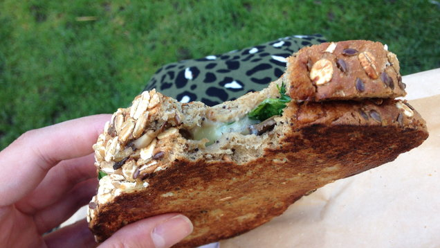 Tried and tested: Here's our verdict on EAT.'s new vegan mushroom melt with 'Gouda' cheese