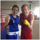 Katie Taylor puts Alan through his paces in the ring in the latest  'Challenge Alan' for Ireland AM.