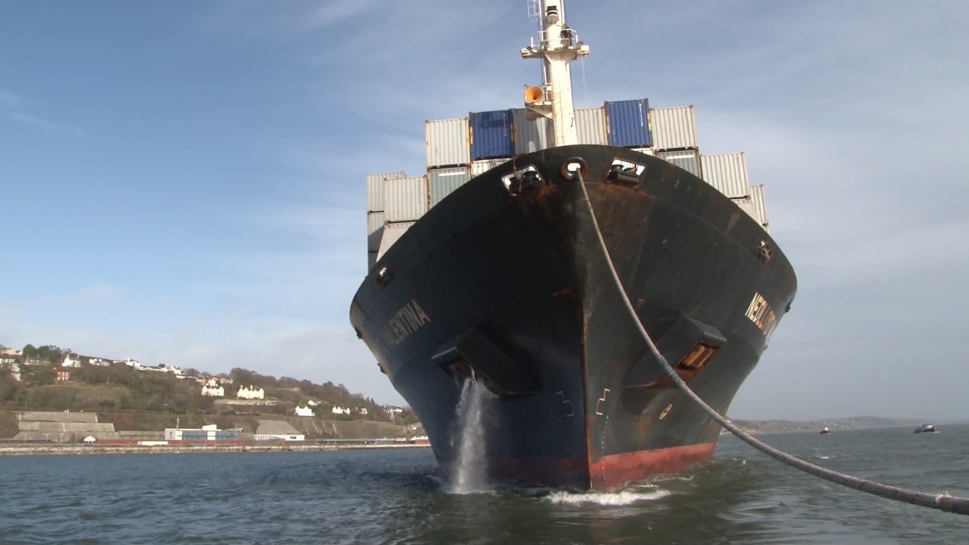 TV3 airs fly-on-the-wall series about Cork's Mega Port.