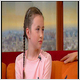 Ten-year-old tells Ireland AM that she's happy she knows about father's suicide.