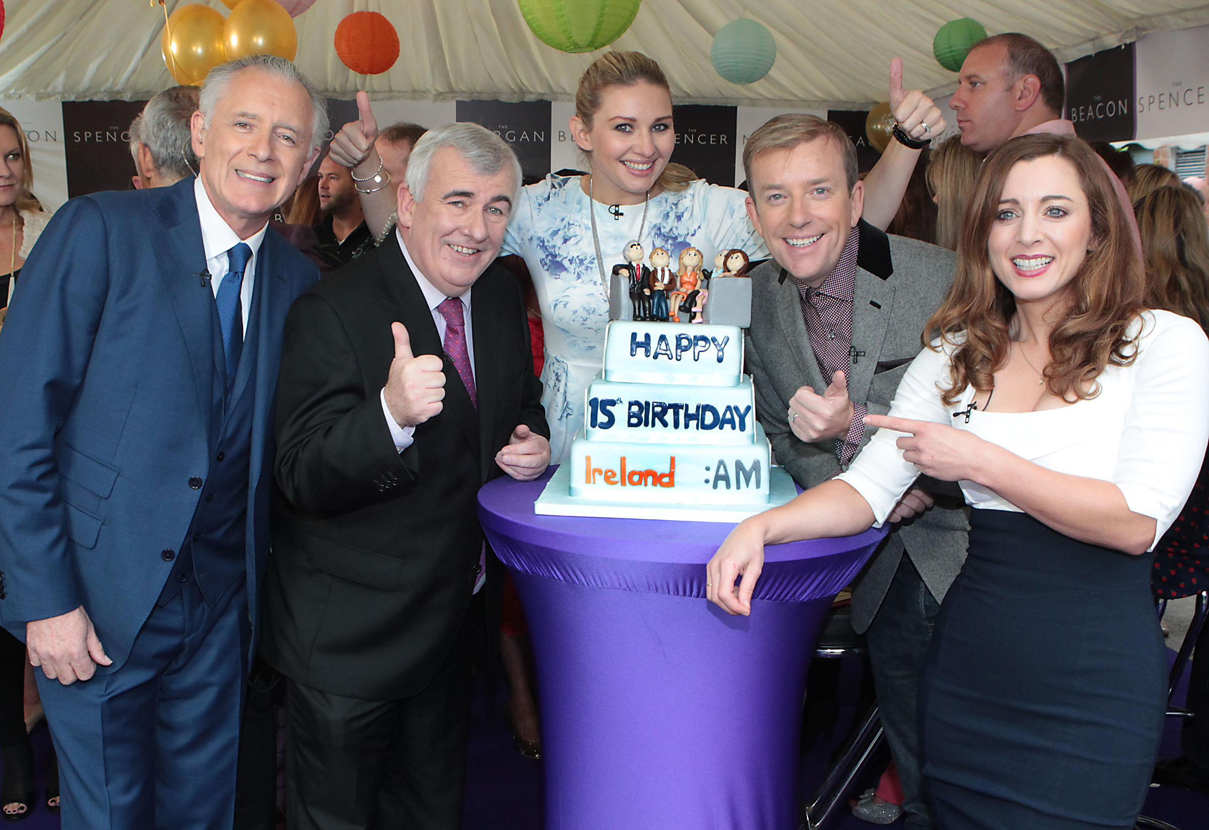Ireland's No 1 Breakfast Show 'Ireland AM' celebrates 15 years