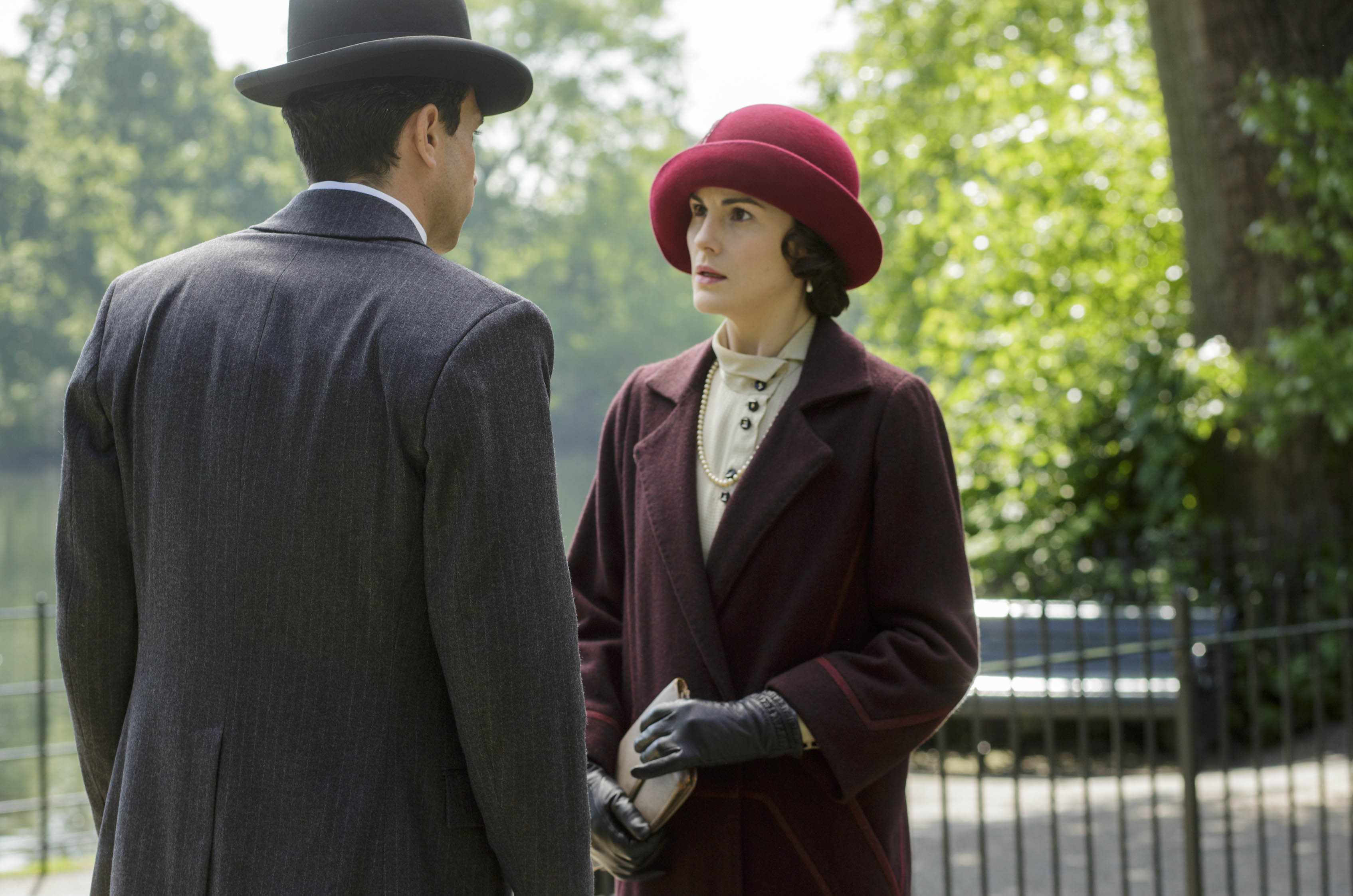 A proposal and a divorce in this week's 'Downton Abbey'.